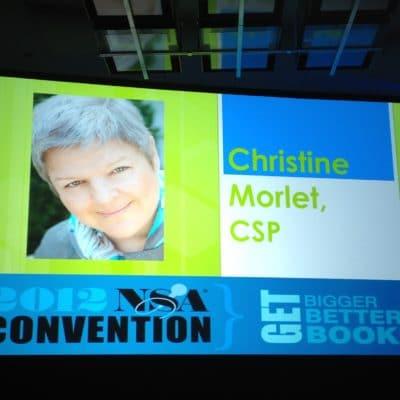 MORLET Christine